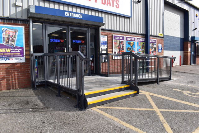 Modular Access Ramp and Step Installations