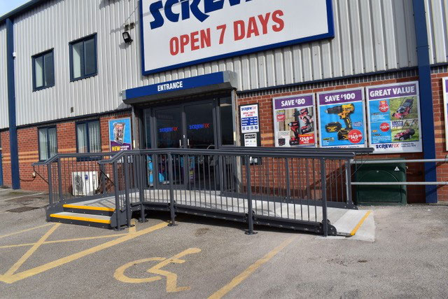 Modular Access Ramp and Step Builder in the UK